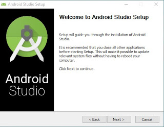 Cara Install Android Studio 1