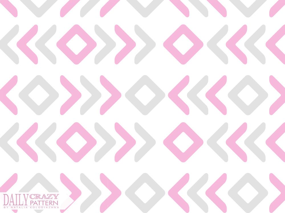 Geometric pink pattern