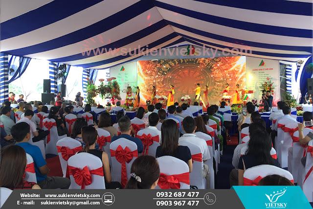 Cho thuê bàn ghế tổ chức sự kiện tại HCM