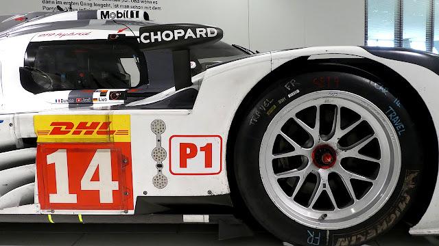 Porsche Museum in Stuttgart WEC -  2014 919 Hybrid #14
