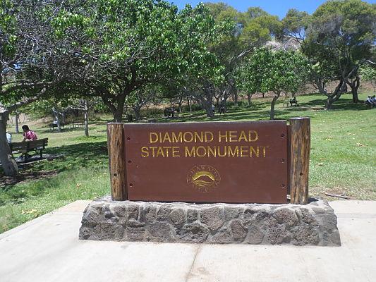 trilha diamond head oahu havai