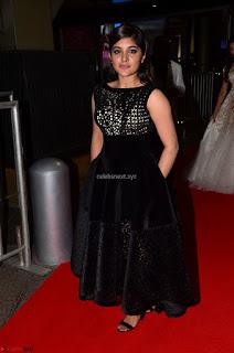 Niveda Thomas Black Sleeveless Cute Dress at 64th Jio Filmfare Awards South 2017 ~ Exclusive 009