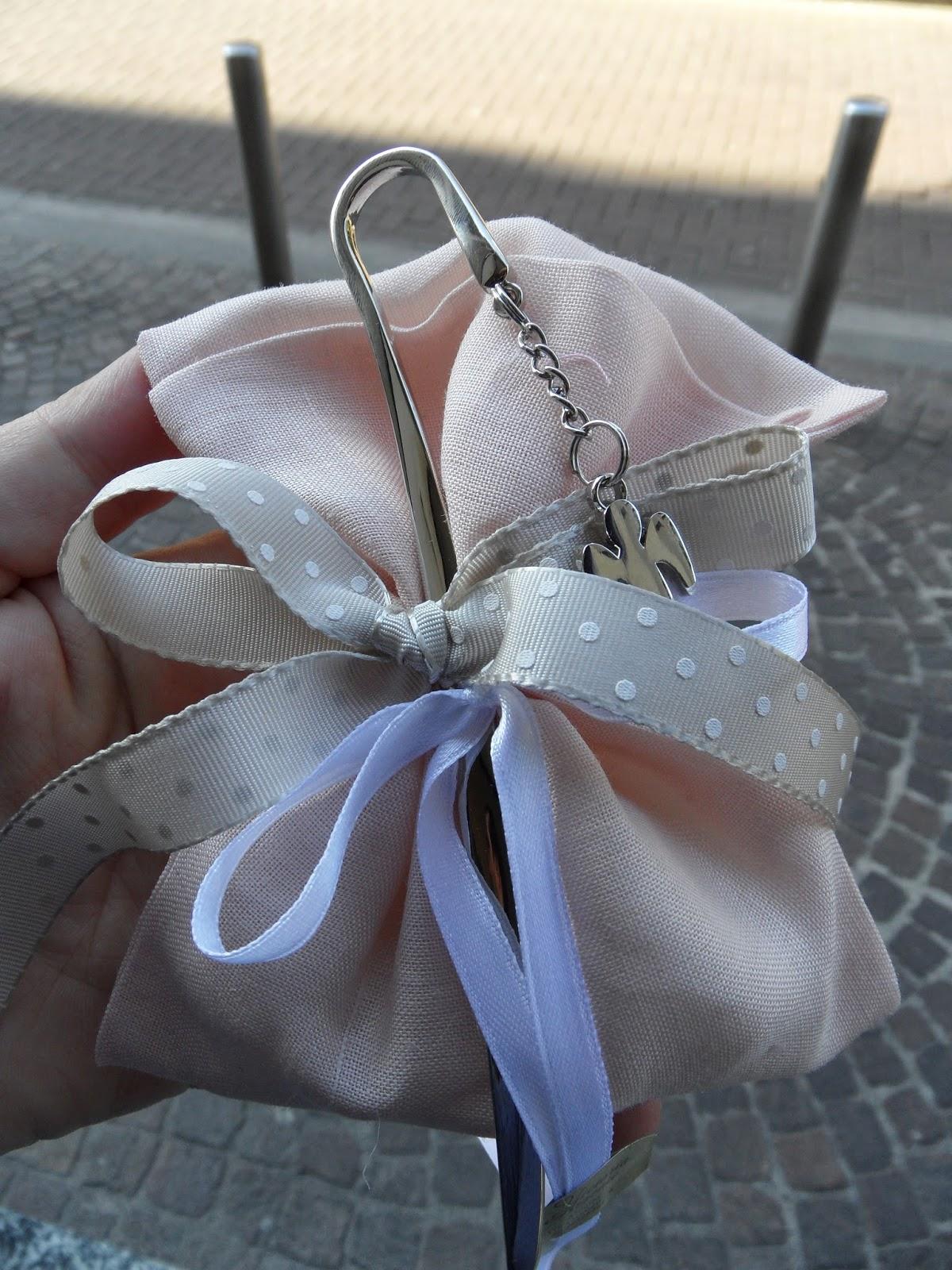Favoloso Bomboniere per Amore: Idee Comunione Bimba Sacchetto lino color  SK89