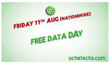 Offer; What To Know About Glo Free Data Day August 11