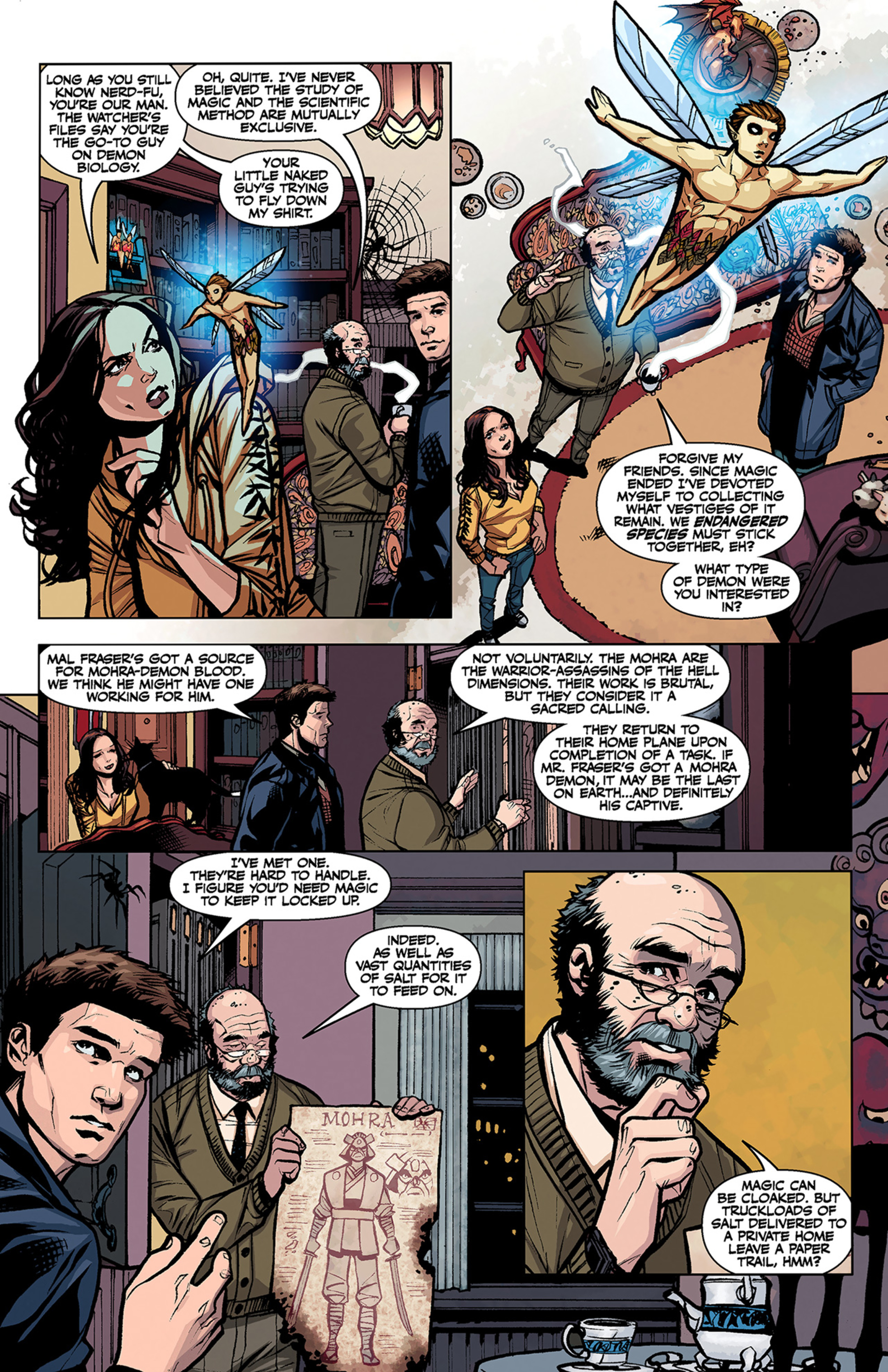 Read online Angel and Faith comic -  Issue #3 - 13