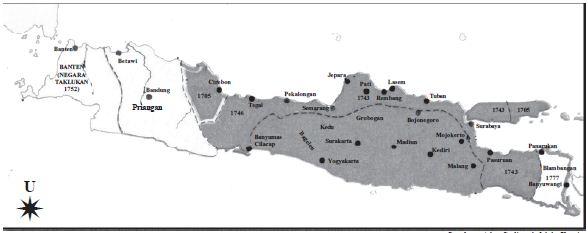 Sejarah Berdirinya Kerajaan Mataram Islam Lengkap Dengan Nama Pendiri, Letak, Peninggalan serta Silsilah Raja-Raja dari Kesultanan Mataram