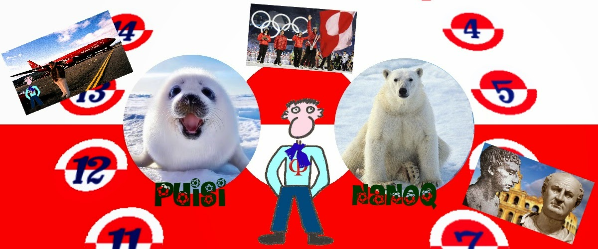Joe Vitruvius faces in Greenland his new challenge: the puisi-nanoq game