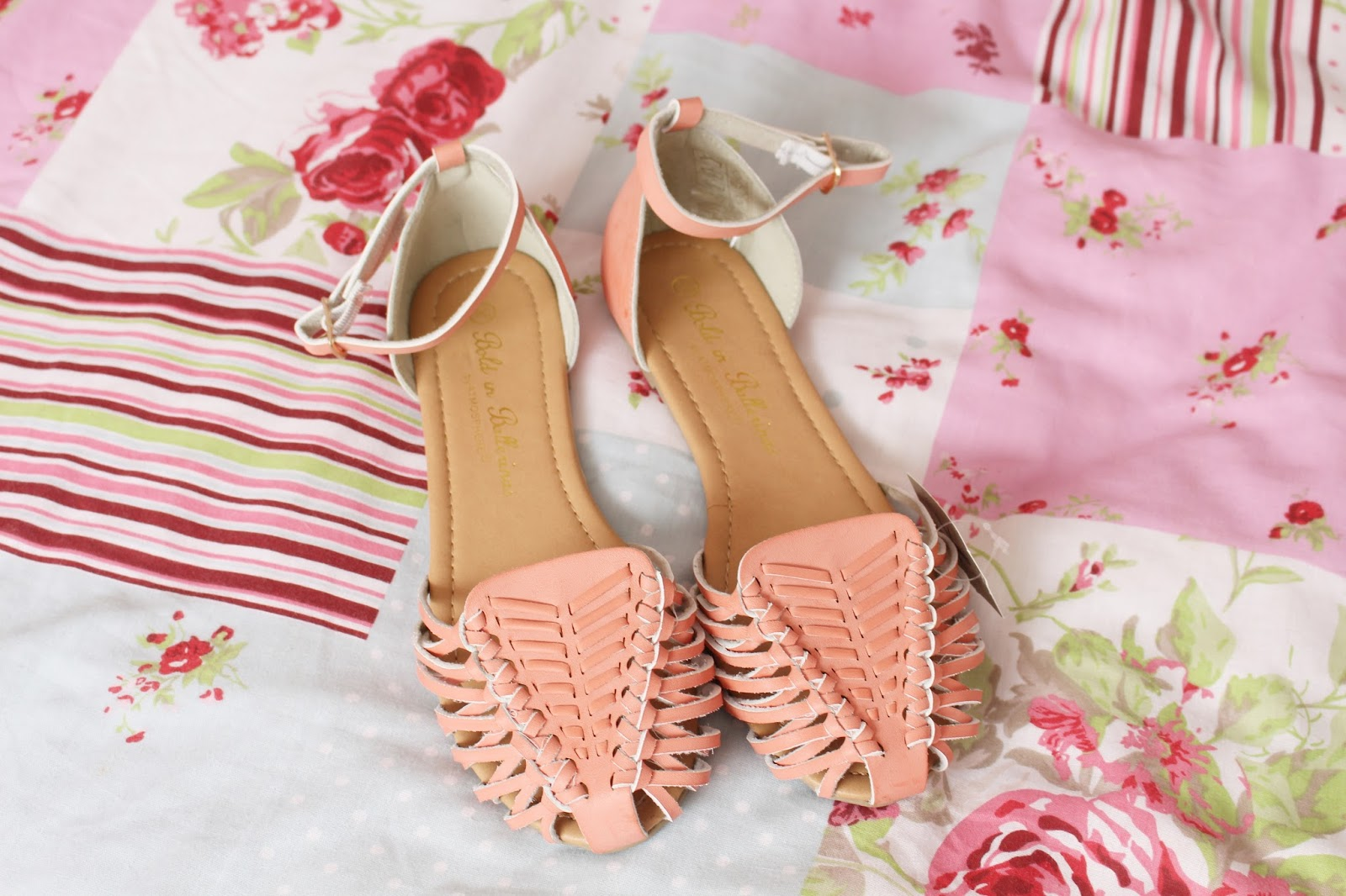 Summer Primark Haul April 2014 Coral Sandals
