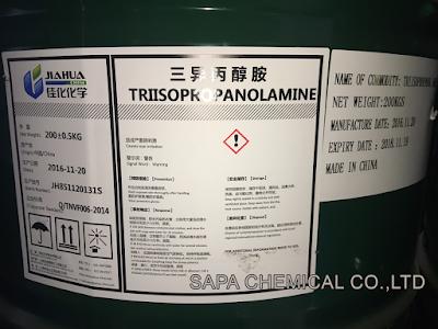 Triisopropanolamine, TIPA, Chất trợ nghiền xi măng