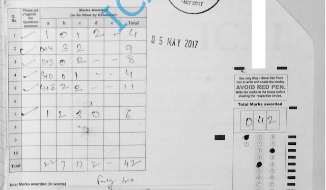 IPCC Law May 2017 Certified Copies Answer Sheet
