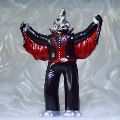 "G.I. Joe Inspired ""Weapons Manufacturer"" Destro Quackula Vinyl Figure by Healeymade"