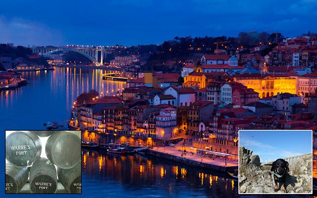 Porto, dove sfocia il lungo percorso del Douro.