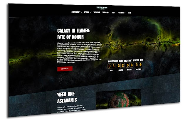 The New Warhammer 40,000 Fate of Konor Campaign Site is Live