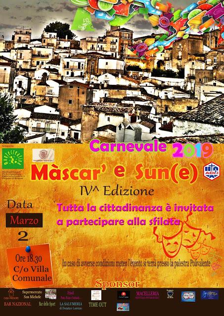 Màscar' e Sun(e), il carnevale per i bambini montanari