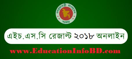 HSC Result Full MarkSheet 2018 Publish Education Board
