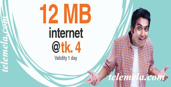 banglalink 12mb internet 4tk