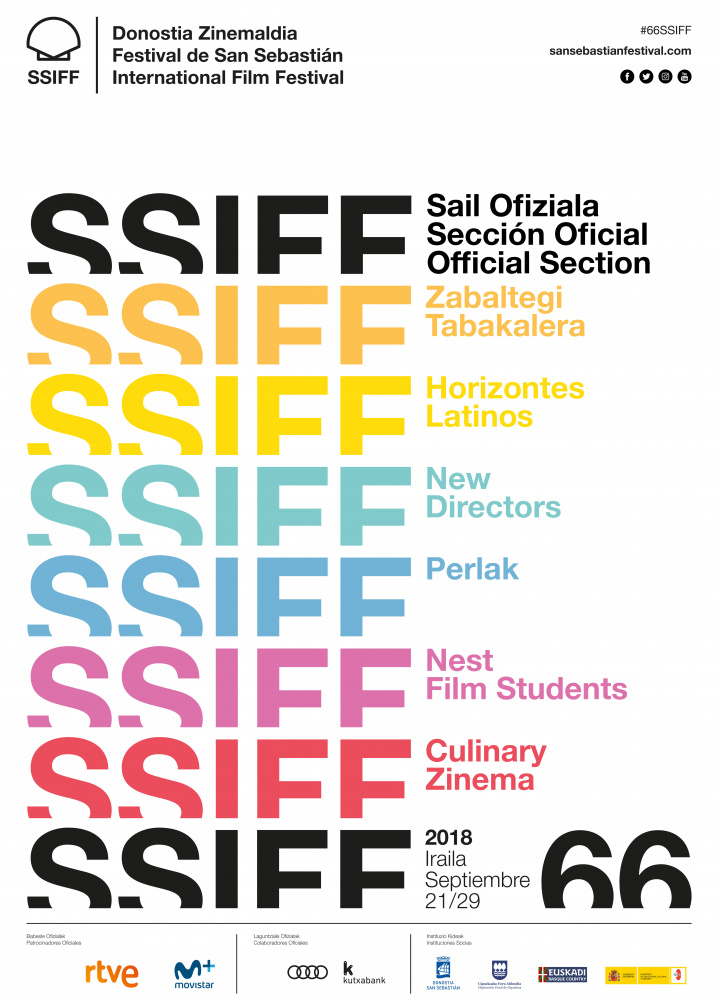 Cartel del 66ª Festival de Cine de San Sebastian