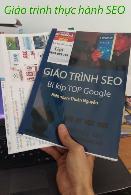 Tài liệu hướng dẫn tự học làm SEO website toàn tập