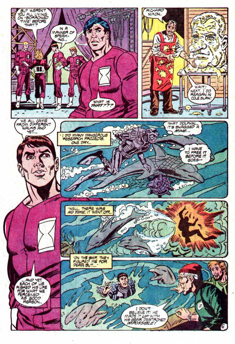 Read online Secret Origins (1986) comic -  Issue #12 - 24