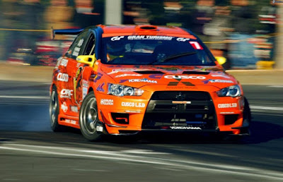 Mitsubishi Lancer Evo Drifting Version