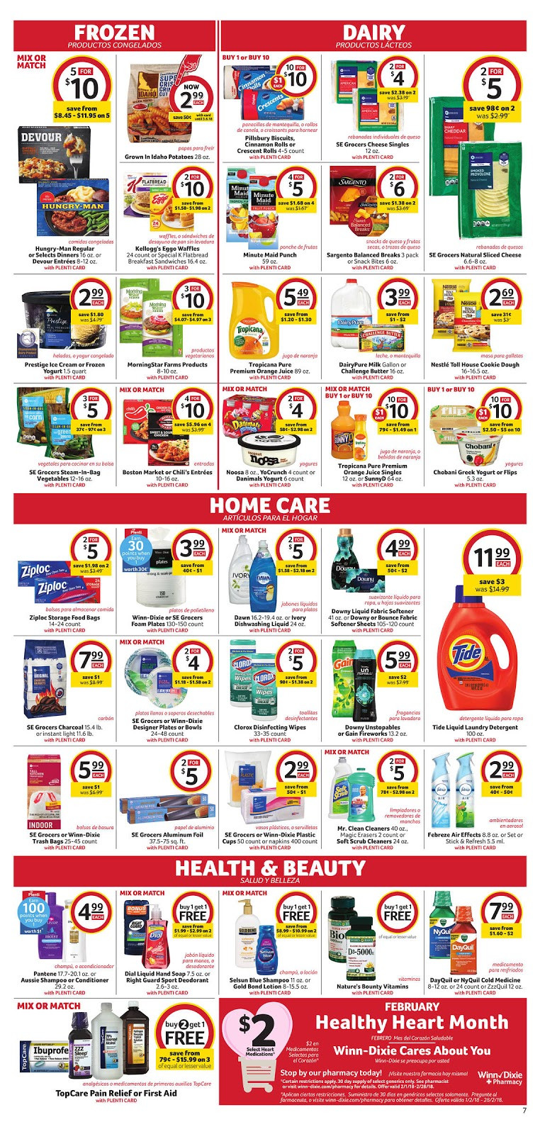 Winn Dixie Ad This Week February 14 20 2018 Amazing Deals 2k