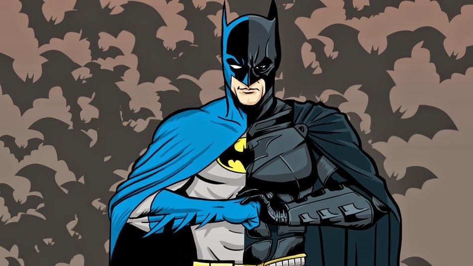 a evolução dos desenhos de super heróis