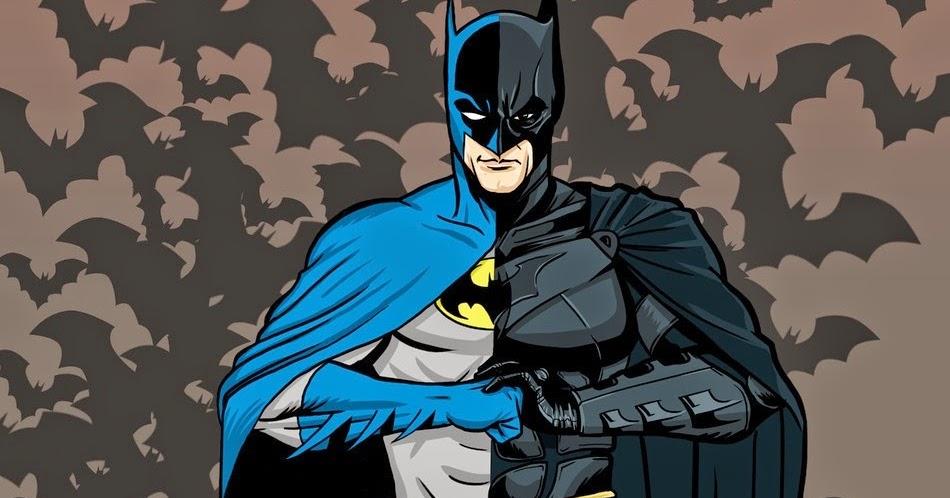 A Evolução dos desenhos de super-heróis