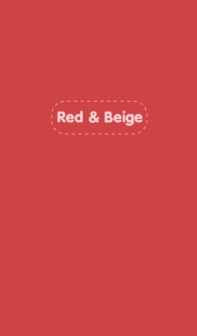 Red & Beige theme