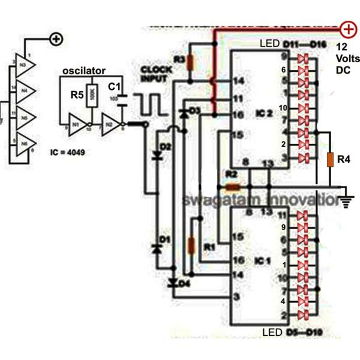 electronic circuit digram