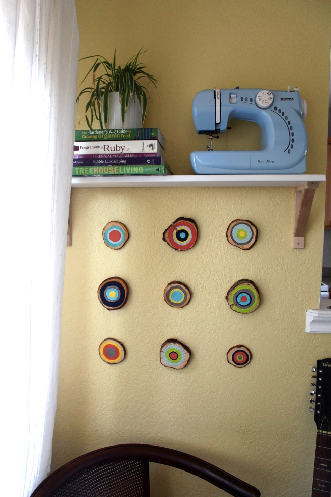 Tree Ring Wall Art - Turning It Home