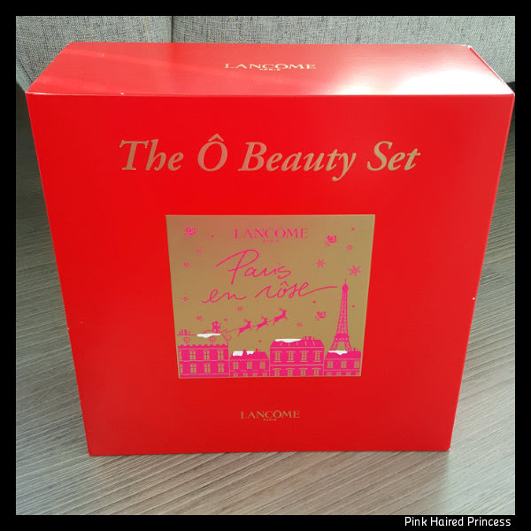 lancome the o beauty set 2016 box