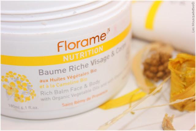 Nouvelle gamme Nutrition Huile de Cameline Bio - Florame - Blog beauté Les Mousquetettes©