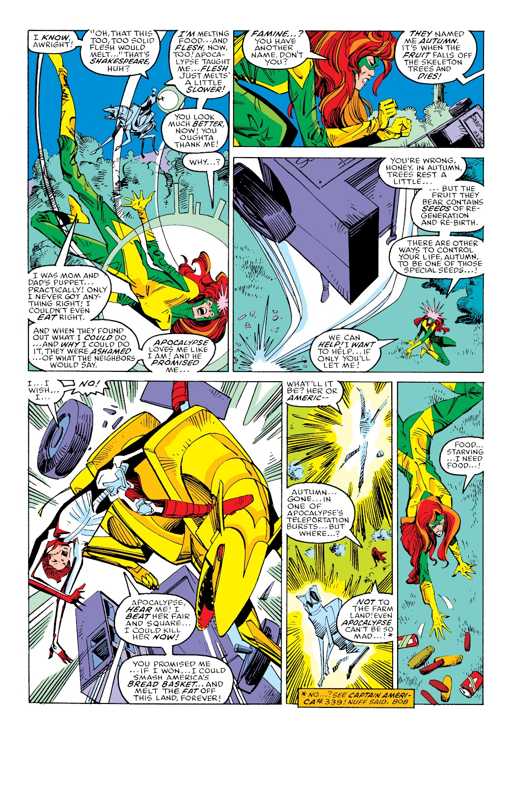 Read online X-Men Milestones: Fall of the Mutants comic -  Issue # TPB (Part 3) - 15