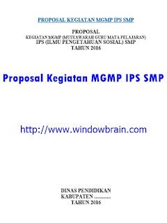 PROPOSAL KEGIATAN MGMP IPS SMP DOC 2016 TERBARU TERBAIK GRATIS
