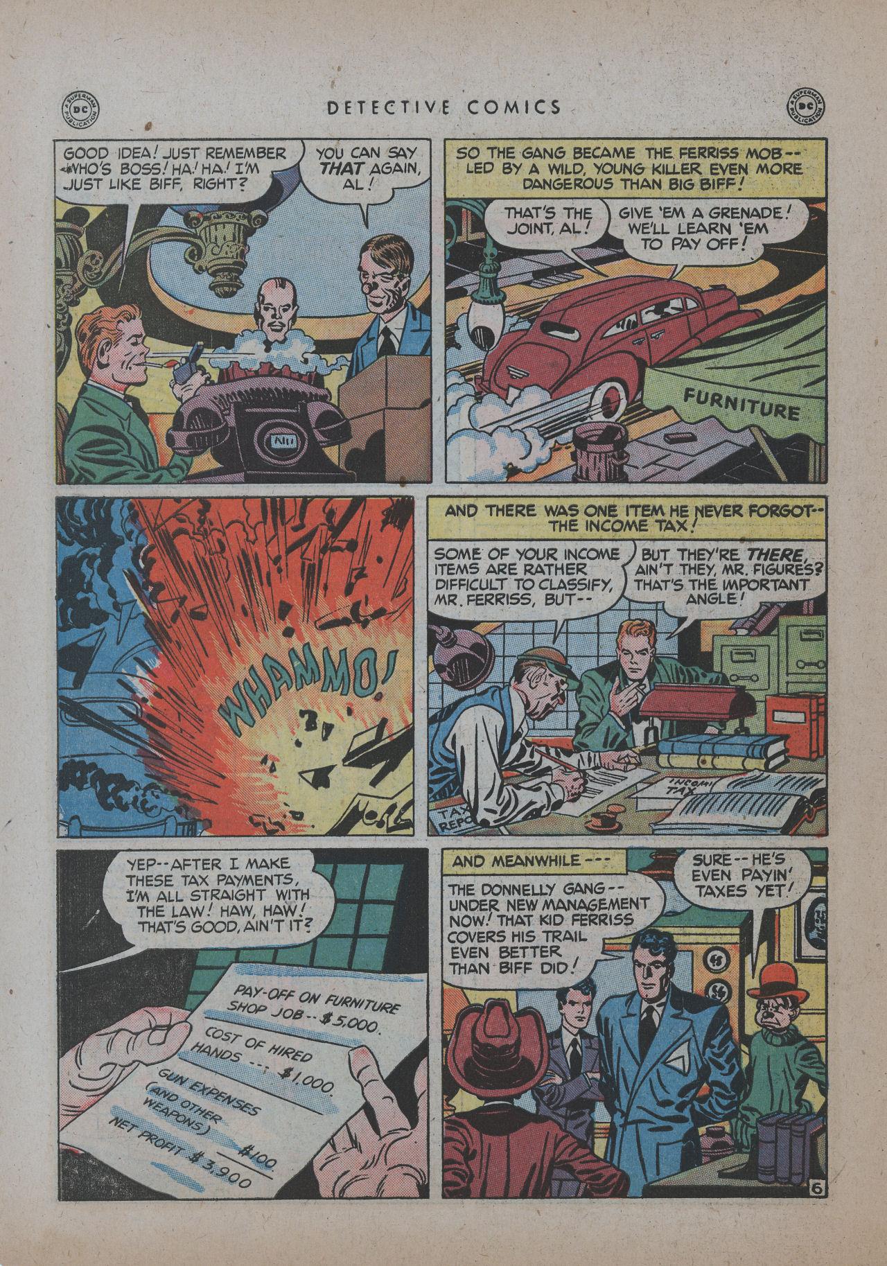 Read online Detective Comics (1937) comic -  Issue #137 - 42
