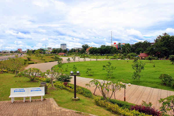 Parco Chao Anouvong - Vientiane - Laos