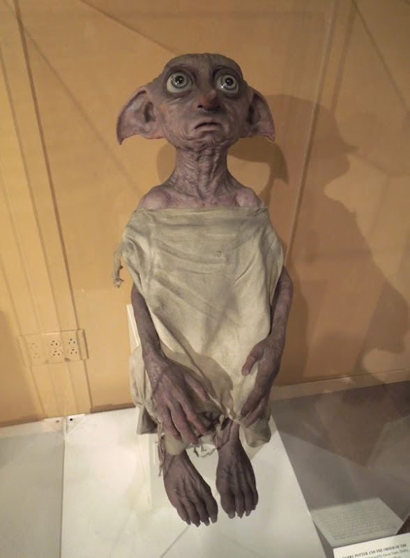 Dobby house elf prop Harry Potter