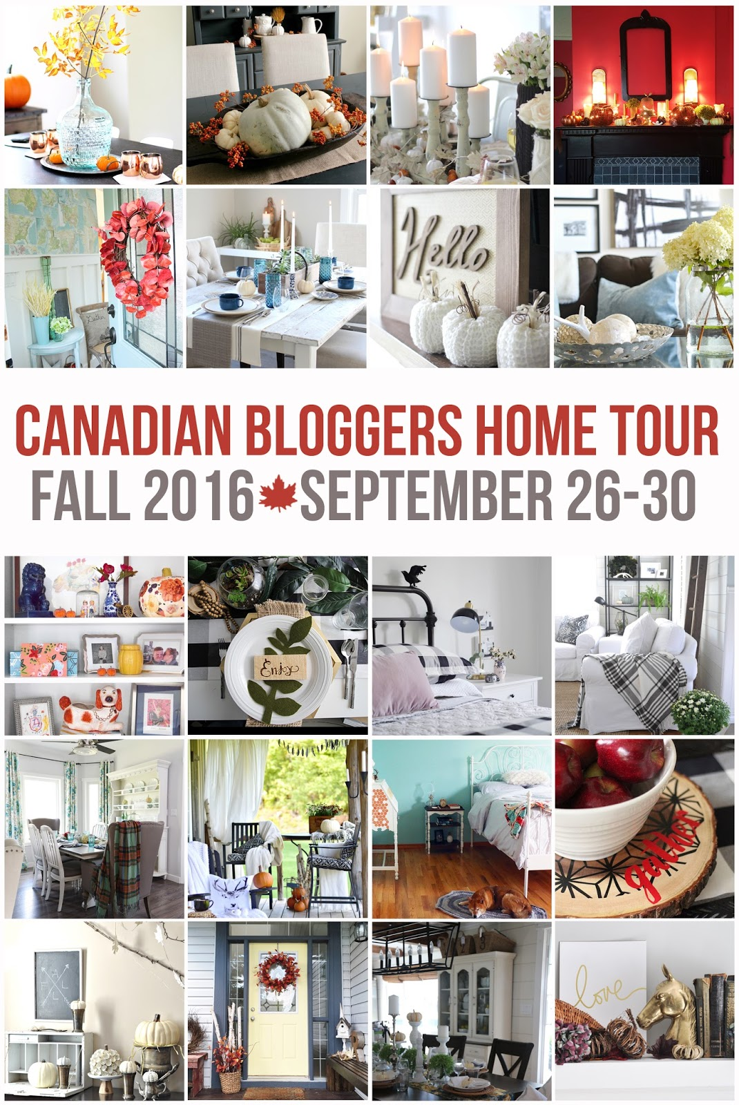 For More Fall Decorating Inspiration Visit The Rest Of Participants Home Tours On Their Tour Dates Below