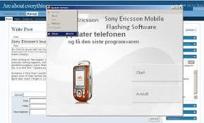 Sony Ericsson Flashing Software without Box For All Devices Free Download
