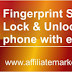 How to lock and unlock your Android Phone with Fingerprint Sensor