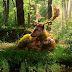 Summer Deer Forest