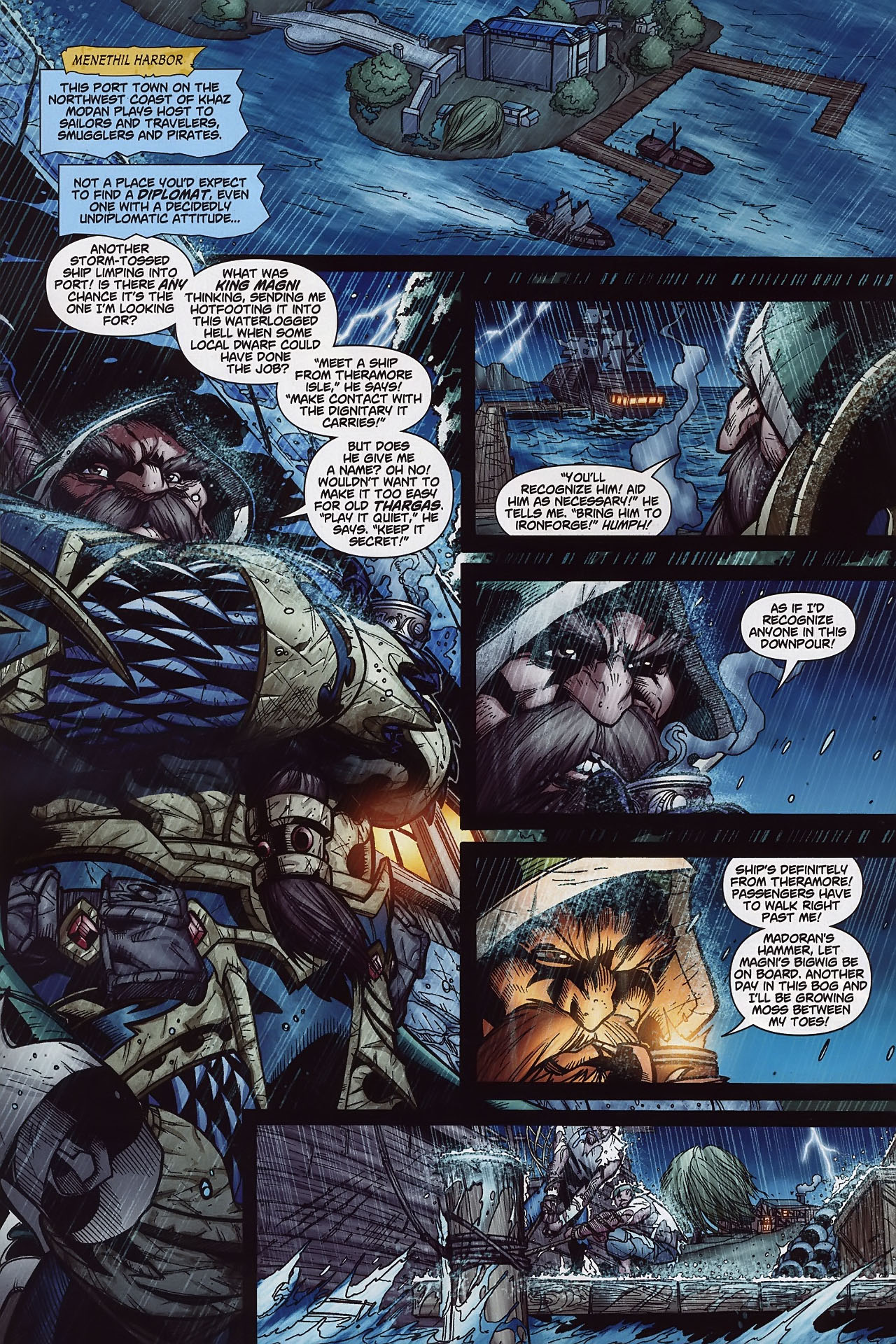 Read online World of Warcraft comic -  Issue #8 - 5