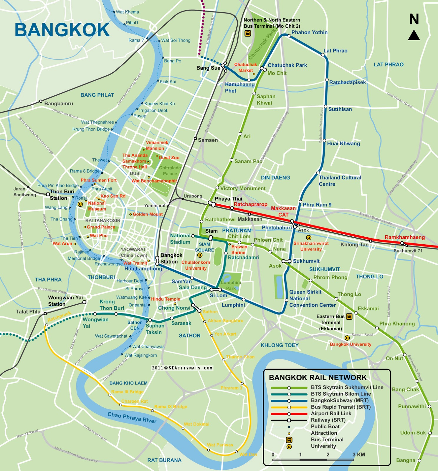 Best travel guide thailand: Travel in Bangkok