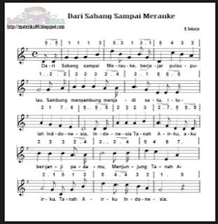 Lagu - Lagu Wajib Nasional Dan Perjuangan