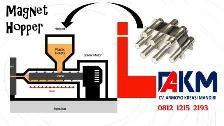 magnet hopper injection plastik - magnet trap industri indonesia