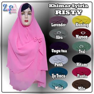 Khimar-syiria-risty-2layer-terbaru-murah