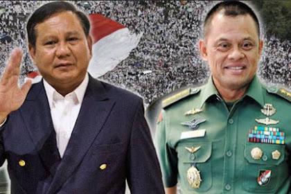 Prabowo-Gatot: Keras, Tegas dan Nasionalis