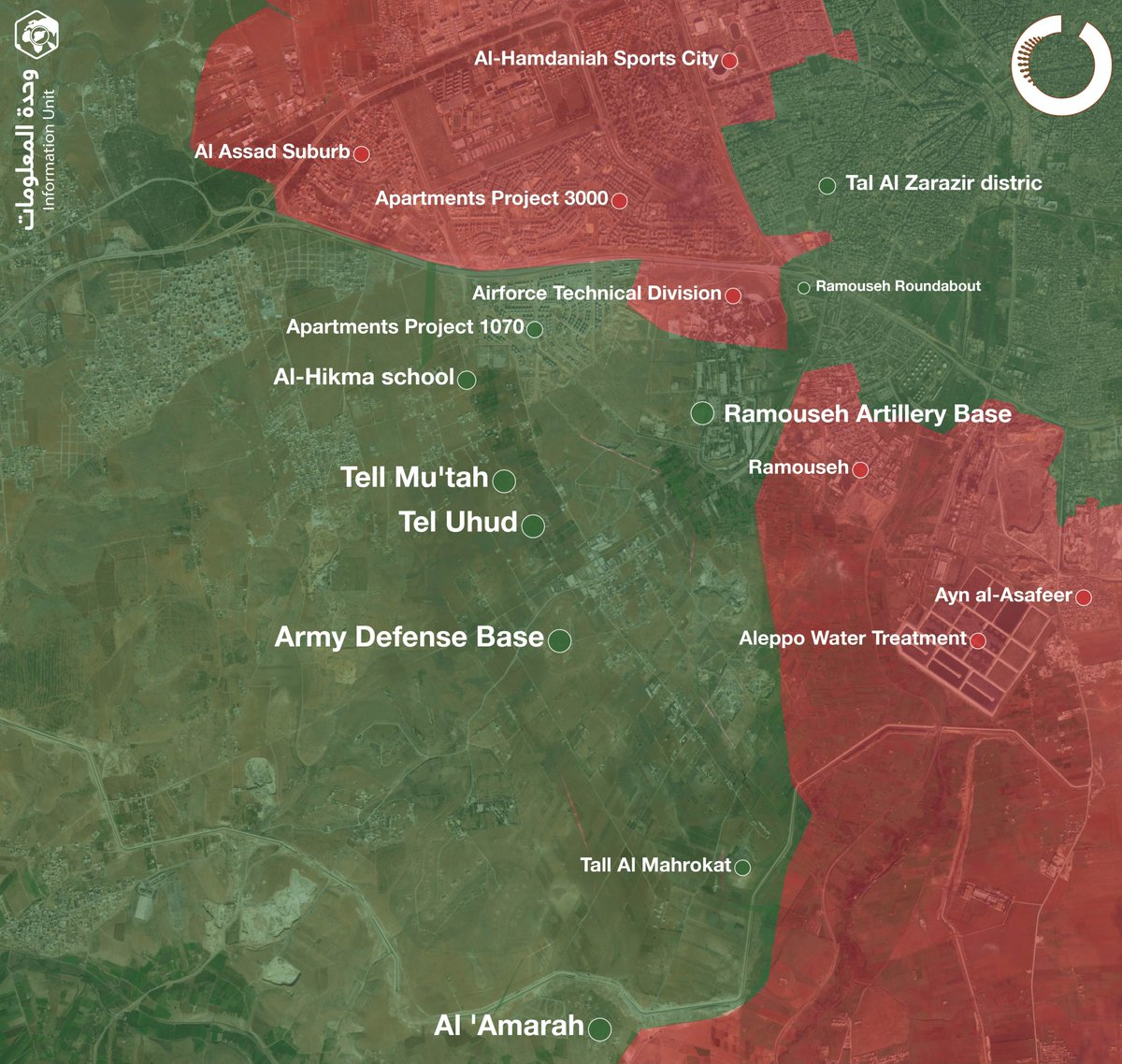 08 august 2016 above below rebel elements have opened a corridor through the government siege of aleppo attacking from both sides
