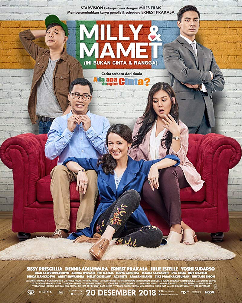 Download Milly & Mamet: Ini Bukan Cinta & Rangga (2018) WEB-DL Full Movies