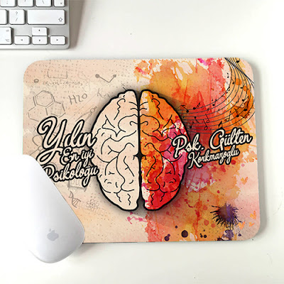 Psikologlara Hediye Mousepad